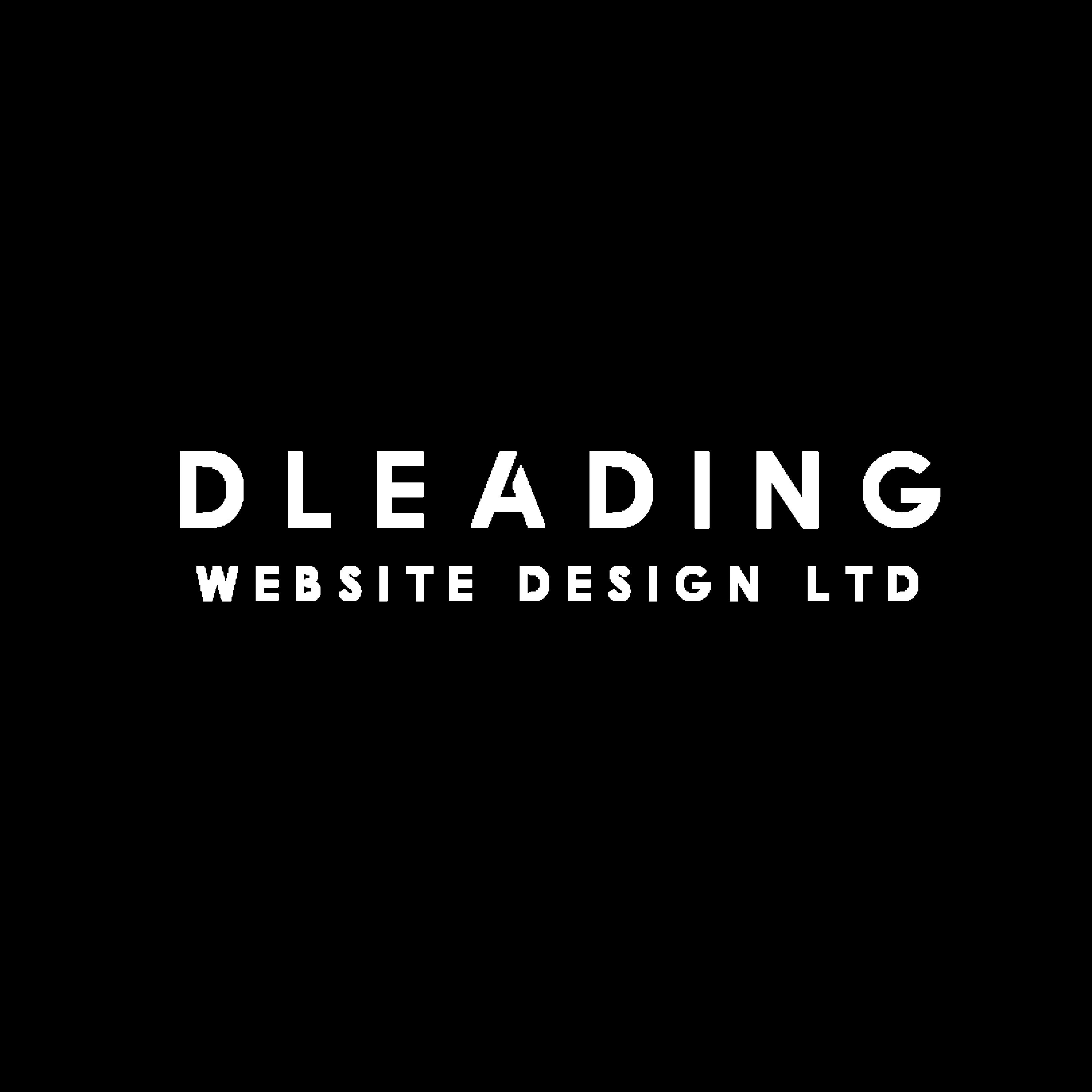 dleading web design png logo